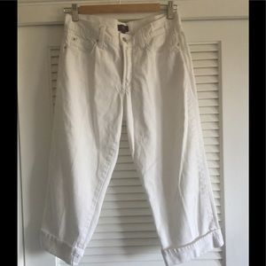 White Denim NYDJ Capris
